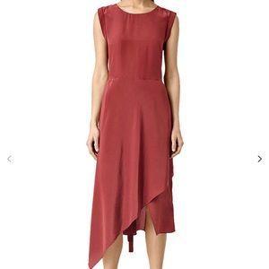 All Saints Cecilia Dress in Sahara Red